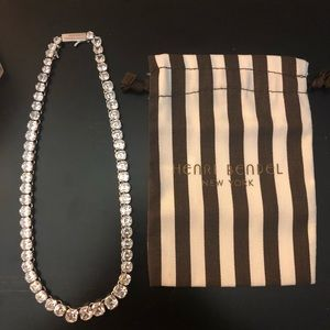 Henri Bendel Luxe Asscher Statement Necklace